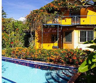 Pension Topas är ett bra alternativ för resenärer med en budget i Boquete, Panama